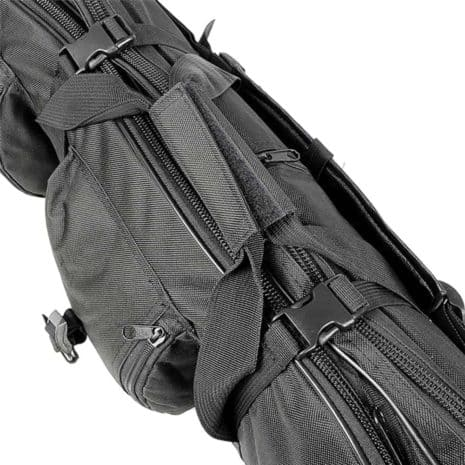 Tactical rifle backpack side view Breezbox